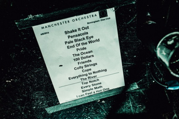 Manchester Orchestra + Gang Of Youths @ The Glee Club, Birmingham – 8th April 2014