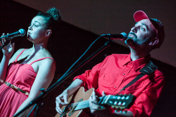Pete Fij and Terry Bickers + I Am Ampersand @ The Tin Music and Arts, Coventry 23rd July 2014