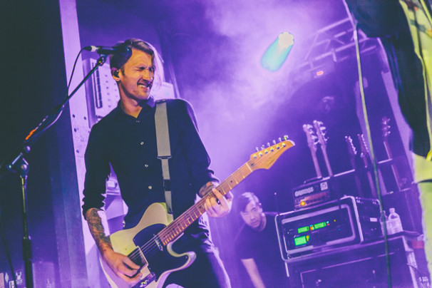 The Used + Landscapes @ o2 Academy 2, 15th February 2015