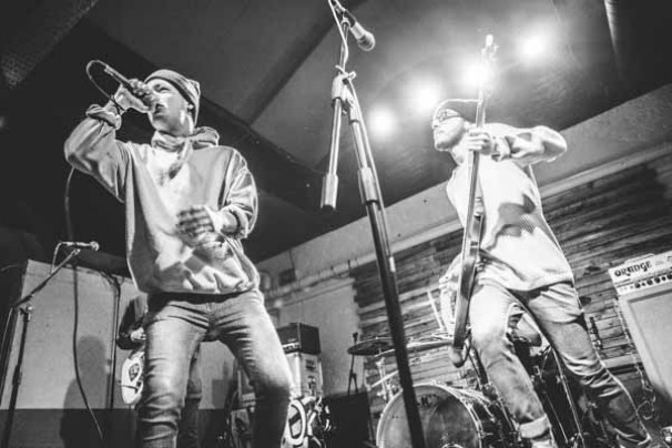 Moose Blood + Choir Vandals + Boston Manor @ The Oobleck, 29th January 2015