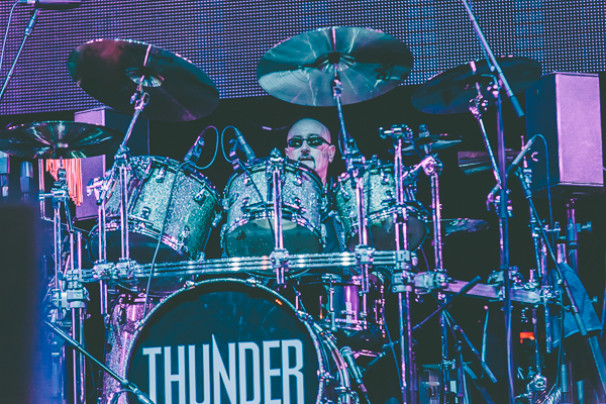 Thunder + Reef + Tax the Heat @ Barclaycard Arena, 13th March 2015