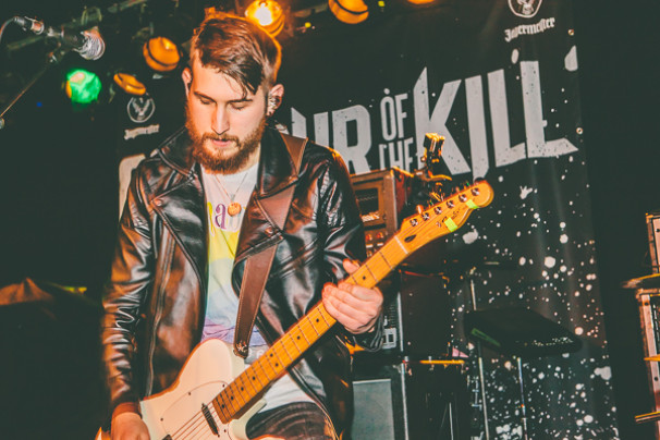 Glamour Of The Kill + The Hype Theory +  EofE + Ashes @ Queen's Hall, Nuneaton, 5th March 2015