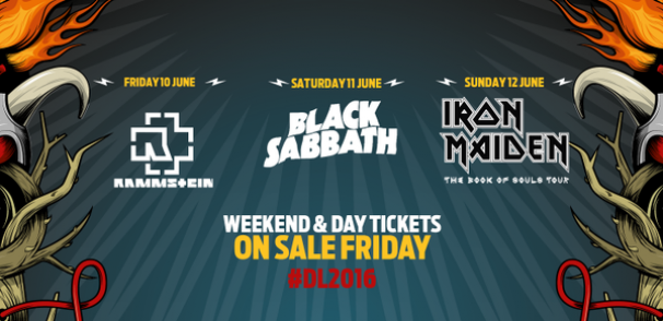 Rammstein, Sabbath and Maiden for Download 2016!