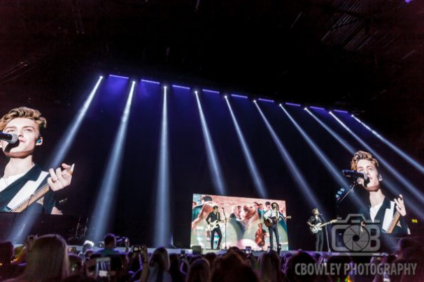 The Vamps @  Genting Arena,  4 May, 2018