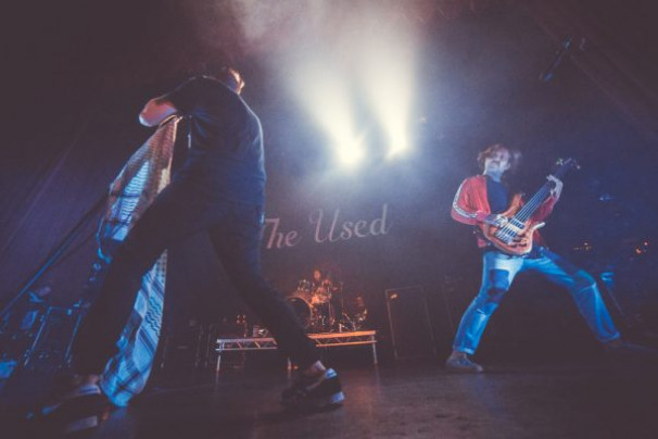 The Used @ Manchester 02 Ritz  30th August 2018