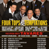 The Four Tops + The Temptations + Tavares @ Arena Birmingham, 22nd November 2018