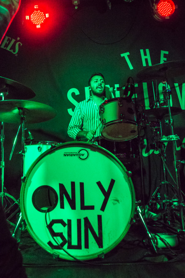Only Sun + The Mustoes + Crymson @ The Sunflower Lounge, 17 April 2019