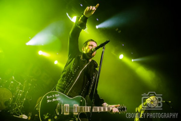 Black Star Riders + Stone Broken + Wayward Sons @ KK's Steel Mill, Wolverhampton 25 October, 2019