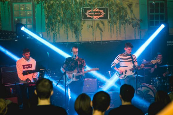 Little Comets + Riscas + Harico @ Mama Roux's, 31 October 2019