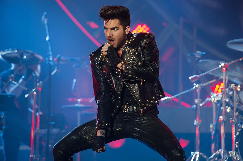 Queen with Adam Lambert in concert - Birmingham